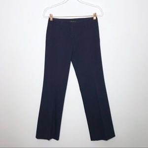 Theory Navy Blue Cotton Stretch Trouser Pants 0